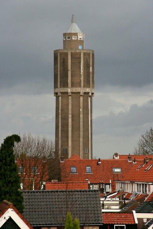 De watertoren van Leerdam.