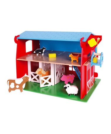 Red Barn by Bigjigs on #zulilyUK today!