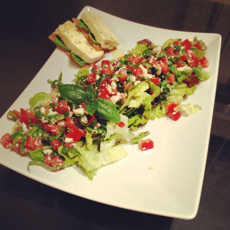 Italian style Tomato Basil #Salad