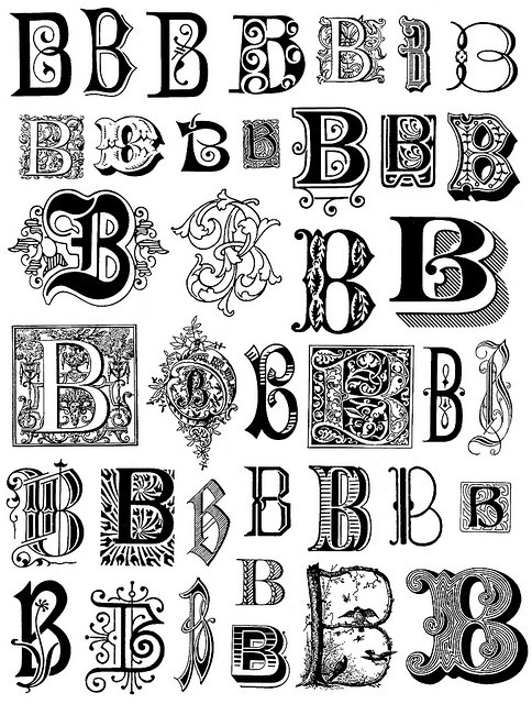 letter art font 23 best images about b 2 on z initials 6670
