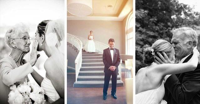 20 zdjęć, które pokażą Ci piękno ślubu