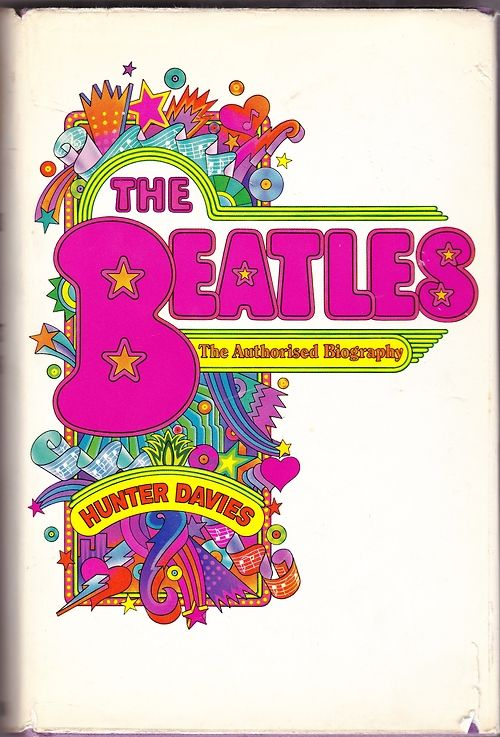 Cover of the original edition of Hunter Davies' biography of The Beatles, 1968