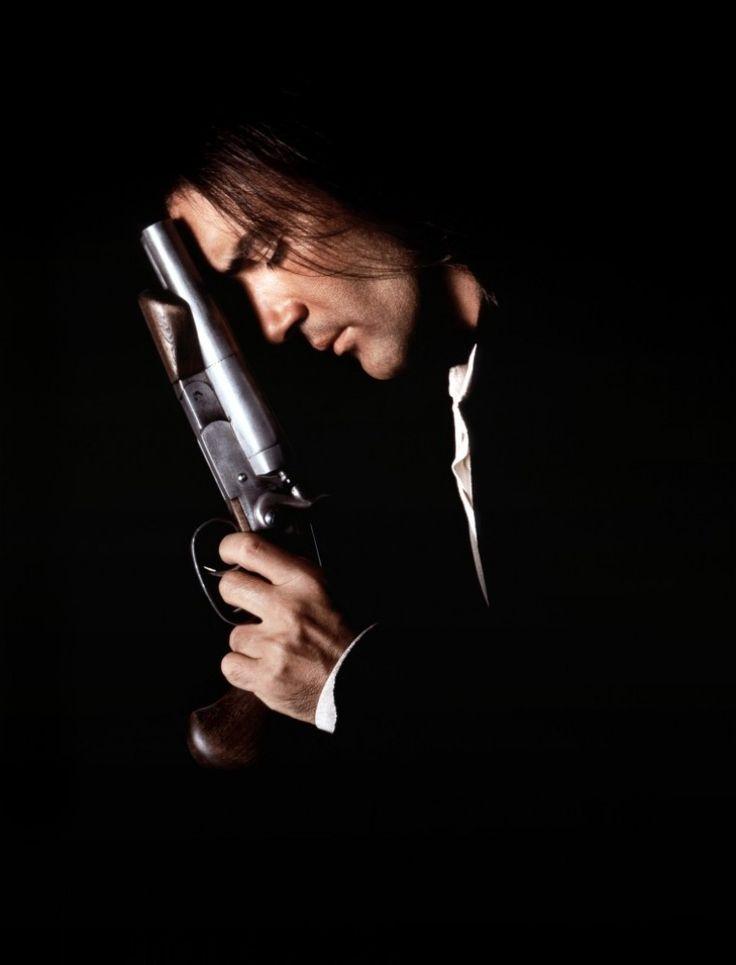 Antonio Banderas. I like his big gun....one of my fav movies