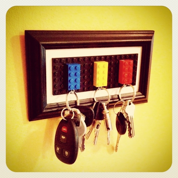Day 13: Lego Key Holder #30DoC