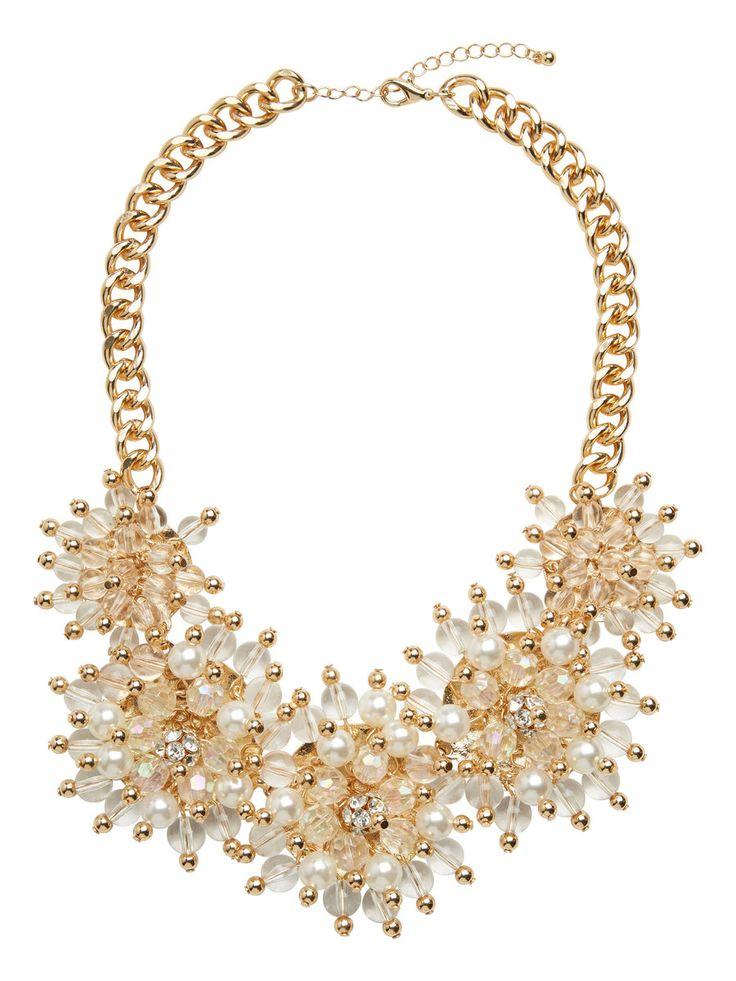 Statement necklace from VERO MODA. #necklace #accessories #veromoda #fashion