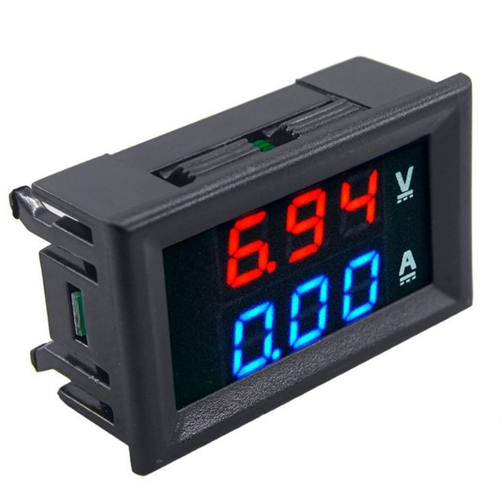 New DC1-100V 10A Digital Double Color Blue & Red LED Display - Tomtop.com