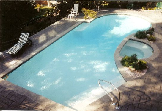 Grey Coping Pools Swimming Pool Deck Carpet Foam Pool