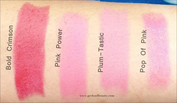 All New Maybelline Colorshow Matte Lipstick Swatches