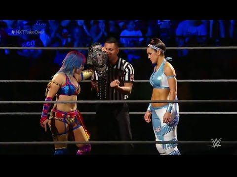 WWE NXT TakeOver Brooklyn II 2016 Asuka vs. Bayley - NXT Women's Championship - (AWESOME MATCH!)