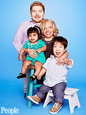 Bill Klein and Jennifer Arnold with their children, Zoey and Will. New season of TLC's The Little Couple premieres Tuesday March 4 at 10 pm E/9 pm C.