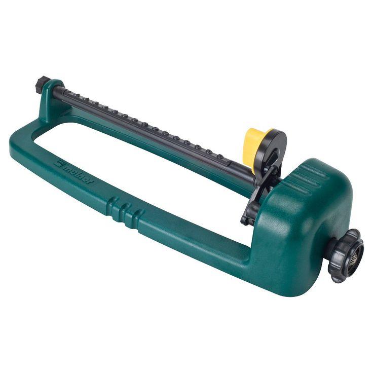 Melnor 2600 sq. ft. Oscillating Sprinkler, Green
