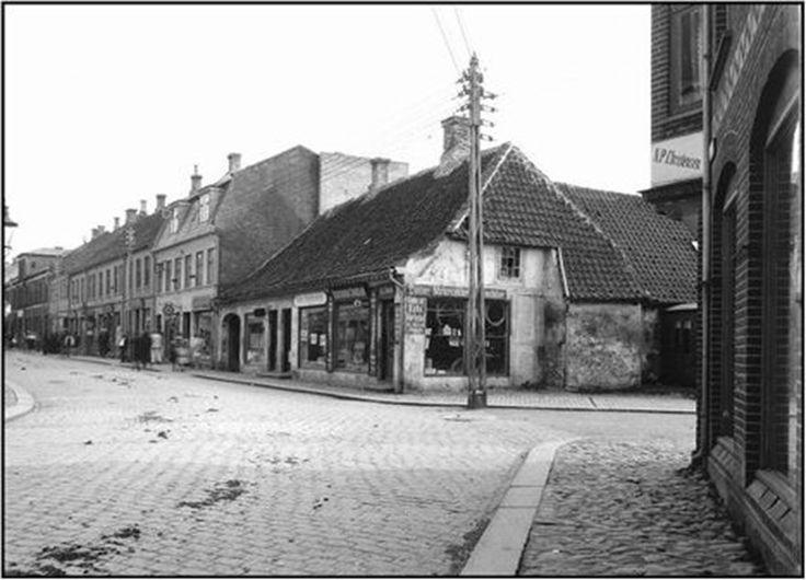 Adelgade 10 var i 1919 købmandsbutik