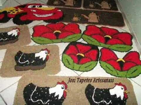 Tapetes de Frufru Josi tapetes Artesanais - YouTube