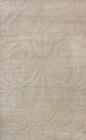 Spectrum Modern Damask Grey Rug | Contemporary Rugs