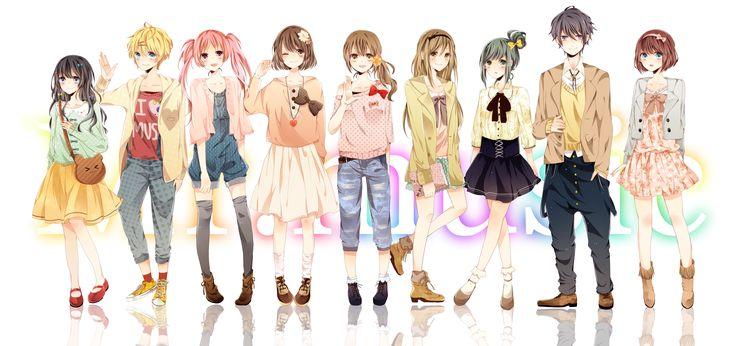anime girl clothes ideas 2