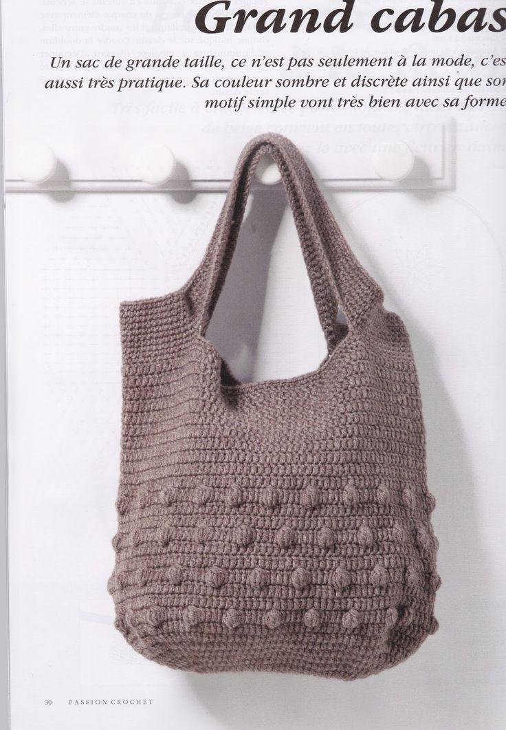créations crochet: sac crochet