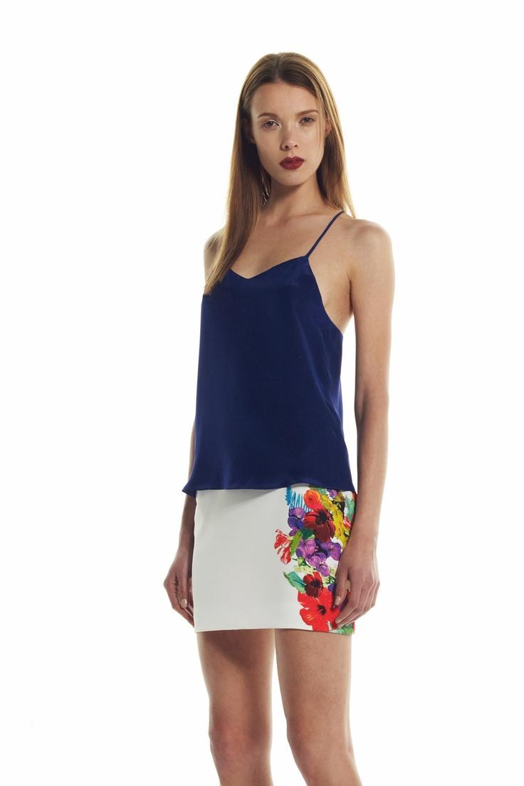 Bec and Bridge - Bouquet Skirt White Price  AUD $160.00