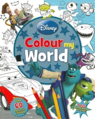 Disney Pixar Colour My World,