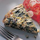 Een heerlijk recept: Griekse omelet met bladgroenten prei en feta van Rick Stein