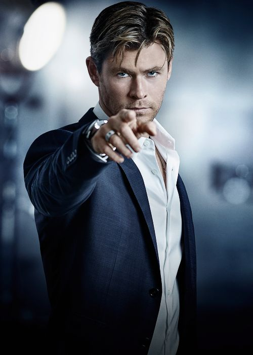 "chrisevanas: "" Chris Hemsworth by Gavin Bond for TAG Heuer, 2015 """