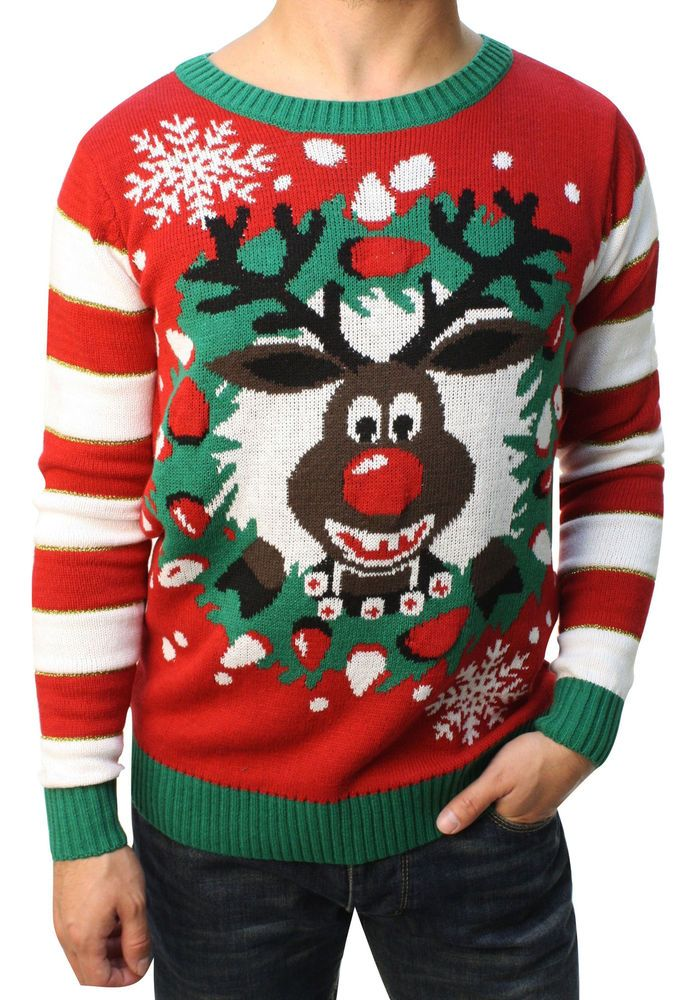 Baby Girl Boy Christmas Sweater Cotton Long Sleeve Snowman Deer Ribbed Knit Pullover Sweatshirt Top Fall Winter Clothes