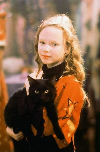 Dani and Binx the cat. Love this movie! Hocus Pocus 1993