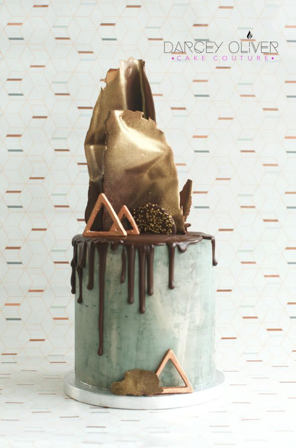 Concrete Love - Cake by Darcey Oliver Cake Couture