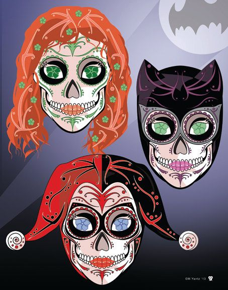 Gotham Rogues de señora: Impresión 14 de 11 x gatubela, hiedra venenosa y Harley…
