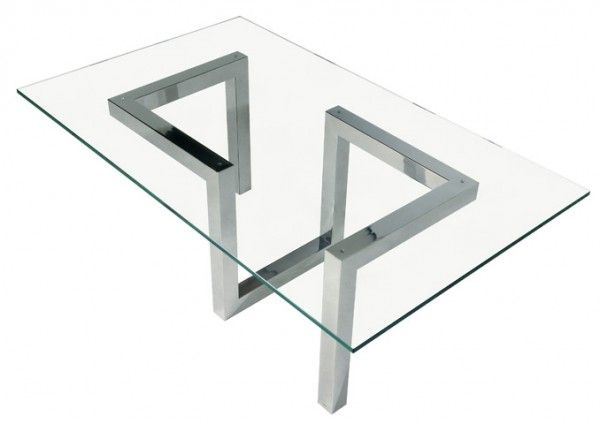 Engineered stainless steel furniture by Toni Grilo, Riluc brand