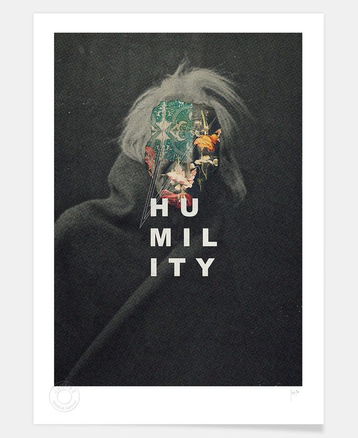 Humility of Frank Moth Limited Edition now on JUNIQE!