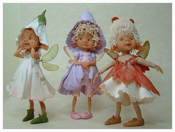 enaidsworld: Fairy puppets & muizen.