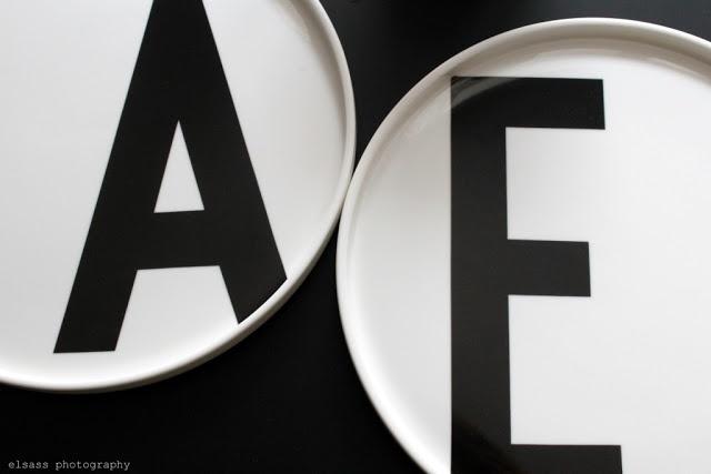 Via Elsass Elsass | Design Letters: Plates with Arne Jacobsen Typography