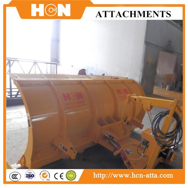 【snowblades|snow removal equipment | snow blade attachment】HCN snow blades can change the shape to adapt the job for different width road. Contact: Olivia Skype:HCNOlivia Email:hcnatta@gmail.com QQ:2125565909 Tel:+86-18652215378