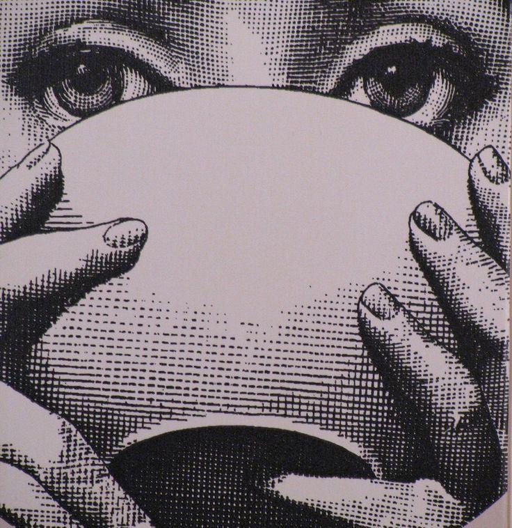Tea - Illustration by Piero Fornasetti (Italian, 1913-1988)