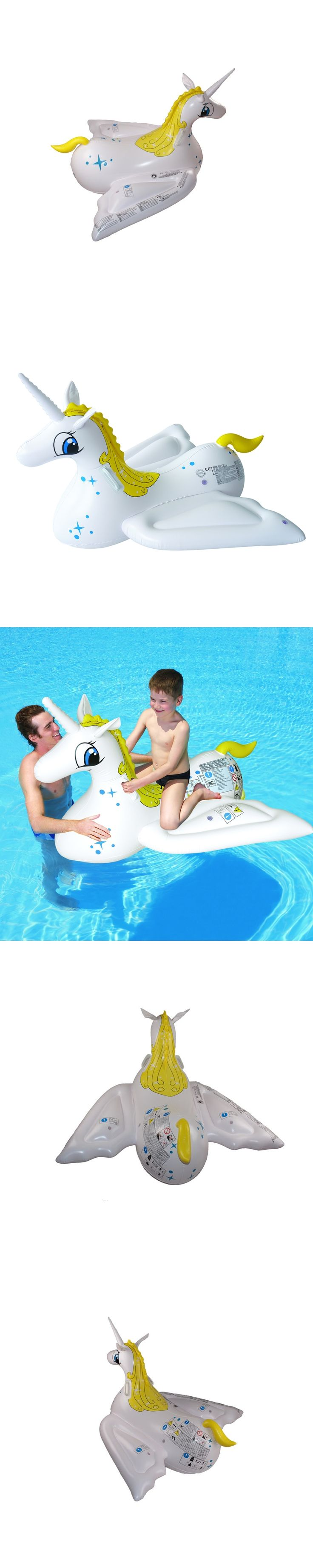 112132cm inflatable water pegasus fly horse rider animal rider baby rider swimming pool toy - Hinterhoflandschaftsideen