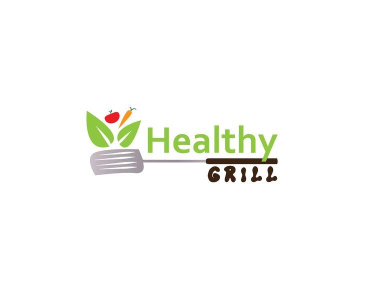 Logo Idea for Healthy Grill #logo #logotype #branding #stationary #graphic #design #illlustrator