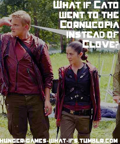Even though Katniss would have died, I think that would ...
