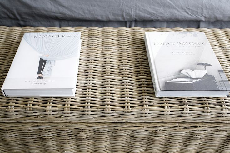 Our Vintage Rattan Storage Trunk doubles as a gorgeous Coffee Table too!  www.rgimports.com.au