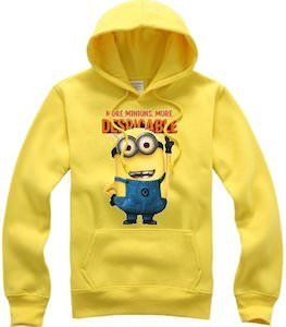 Despicable Me Minion Yellow Hoodie