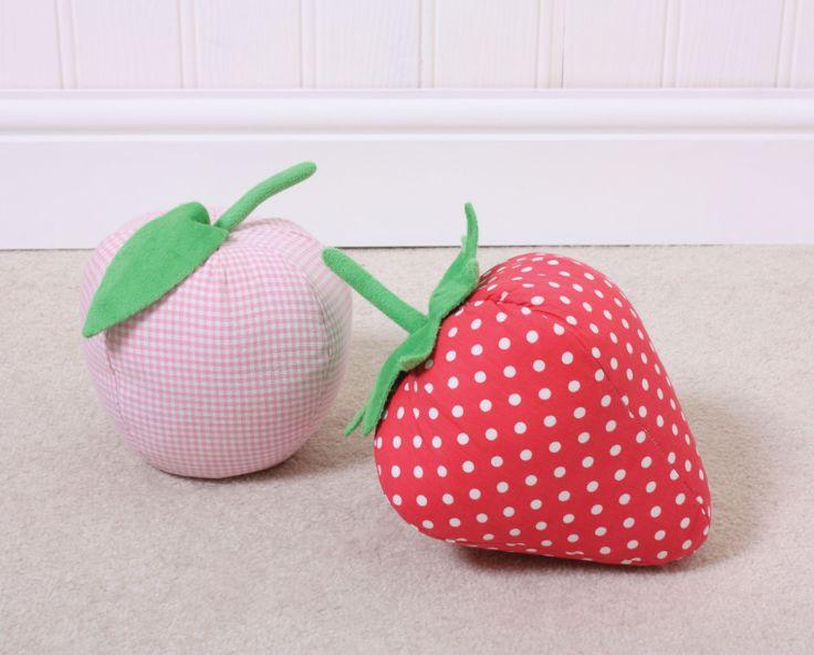 Strawberry Or Apple Door Stops 0 Door Stop Childrens