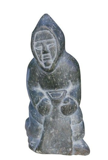 Best images about inuit soapstone carvings on pinterest