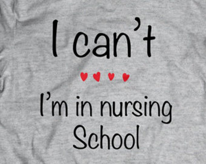 SHOP NurseTees on Etsy!  Love Nursing - Nursing School - TShirt - Nursing Tee - Nursing Student - Funny Shirt - Nursing Clothes