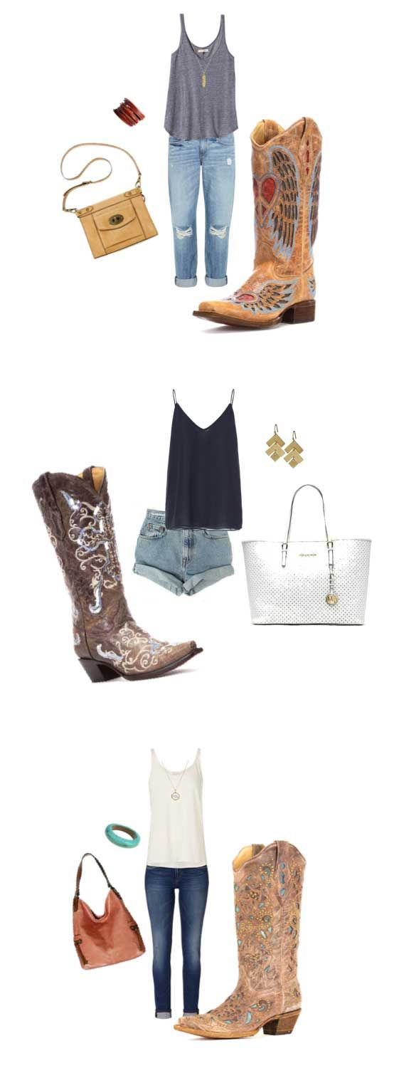 Let's be honest: Is there anything more chic than a girl wearing an authentic pair of cowboy boots? Find your perfect ultra-chic boots. | Country Outfitter