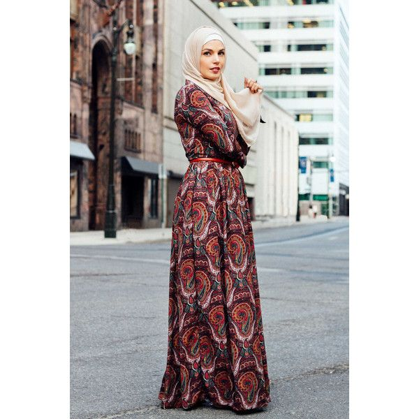 Dahlia Maxi Dress Paisley ❤ liked on Polyvore featuring dresses, formal maxi dresses, maxi length dresses, long sleeve paisley dress, longsleeve dress and formal dresses