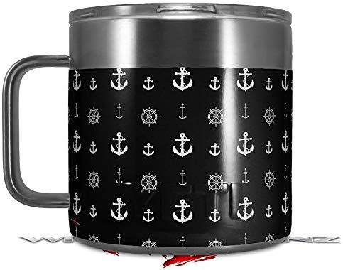 Amazon.com: Skin Decal Wrap for Yeti Coffee Mug 14oz ...