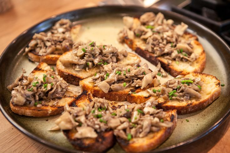 Hen of the Woods Mushroom Toast Recipe