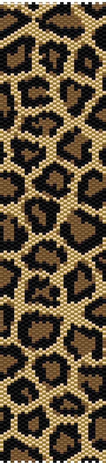 Leopard Peyote Stitch Pattern