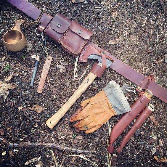 Fully loaded belt kit #bushcraft by jeffhatch