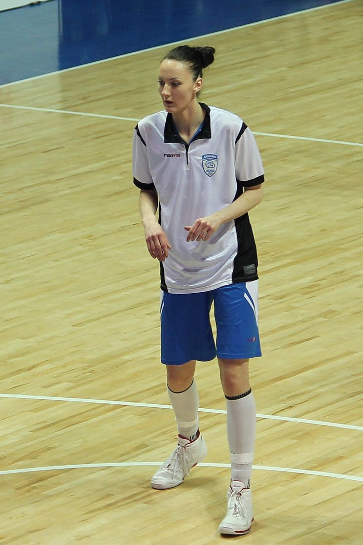 Yekaterina Lisina (born October 15, 1987), is a Russian basketball player who competed for the Russian National Team at the 2008 Summer Olympics, winning the bronze medal.[1] In her bare feet, Lisina stands 2.06 m tall (6 ft 9 in)