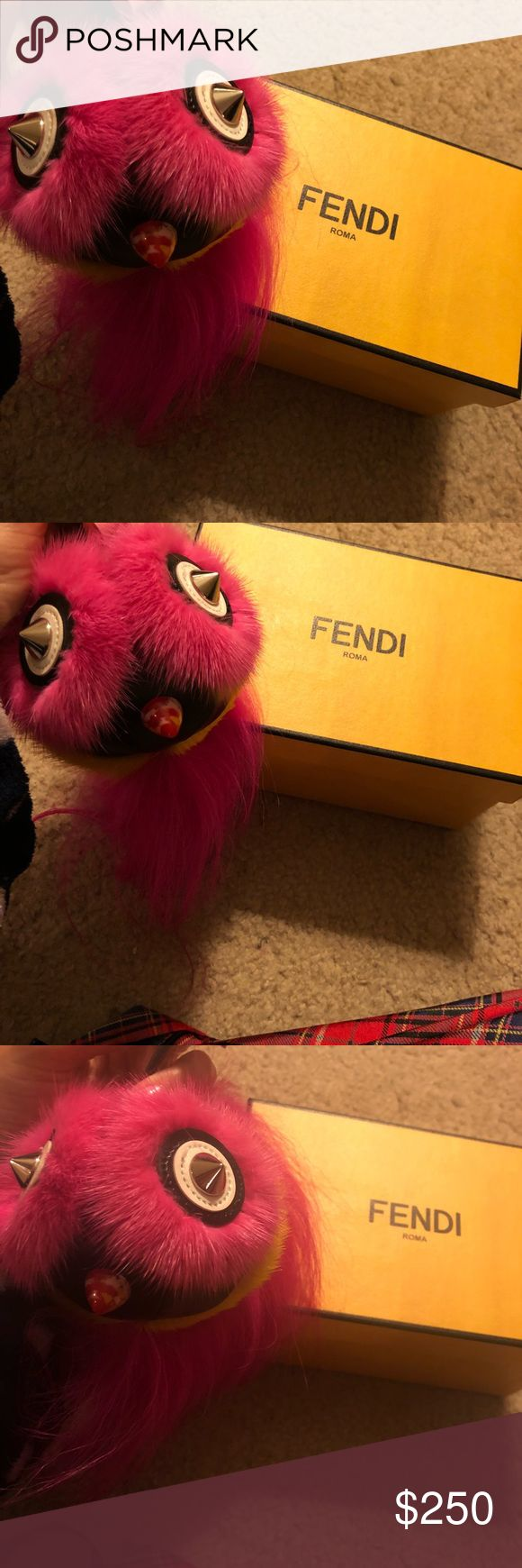 Fendi bag bug Fendi bag bug monster Fendi Bags Shoulder Bags